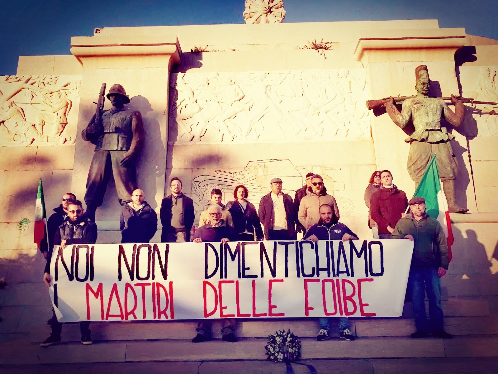 CASAPOUND RICORDA MIGLIAIA DI ITALIANI UCCISI A GUERRA FINITA DAI COMUNISTI DI TITO