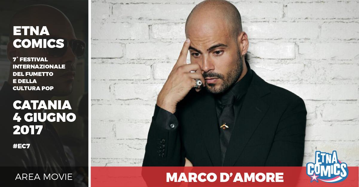 DARIO ARGENTO, ALDO BAGLIO E MARCO D'AMORE AD ETNA COMICS