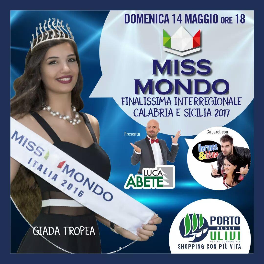 DOMANI SARÀ ELETTA MISS MONDO SICILIA