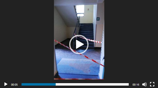 TRANSENNATA UNA ZONA DELL'OSPEDALE UMBERTO I° PER…PIOGGIA (VIDEO)